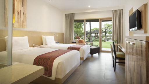 Twin Deluxe Pool Garden   Holiday Inn Resort Baruna Bali