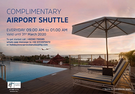 Airport Transfer Promo | Holiday Inn Baruna Bali | Express Resort