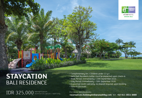 Staycation Bali Residents | Holiday Inn Resort Baruna Bali