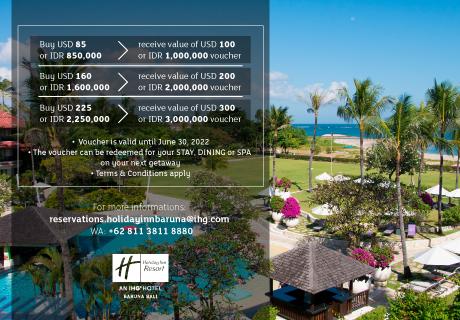 Value Plus Initiative | Holiday Inn Resort Baruna Bali
