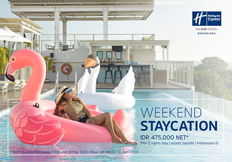 Weekend Staycation | Holiday Inn Baruna Bali | Express Resort